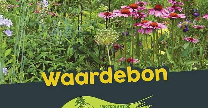 .Waardebon / Voucher - voor vaste planten